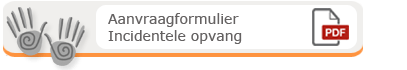 Download incidentele opvang formulier